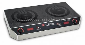 Standard Double Countertop Induction Cooktop