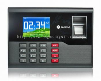 FINGERPRINT TIME ATTENDANCE PUNCH CARD MACHINE (AC120)