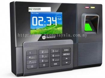 FINGERPRINT TIME ATTENDANCE RECORDER THUMB PRINT MACHINE AC030 SOFTWARE (REALAND)