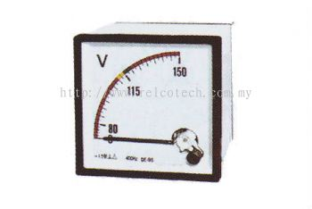 Moving Coil Instruments for Rated Voltmeters