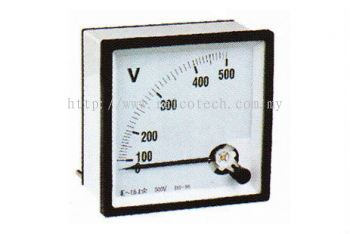 Moving Iron & Moving Coil Instruments AC Voltmeters
