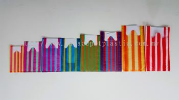 T-Shirt Bags - Stripe