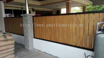 Wood Aluminium Fencing