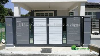Fully Aluminium Gate(Glass Art)