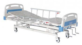 HOSP HI-LO BED DOUBLE FOWLER C/W SIDE COT