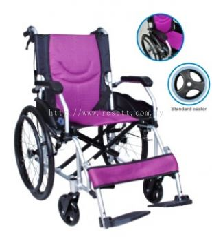 LIGHTWEIGHT WHEELCHAIR, DETACHABLE ARMREST