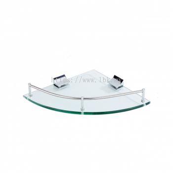 SAMPOO BASKET/ GLASS SHELF