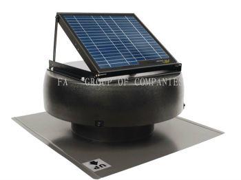 12-Watt Solar Attic Fan