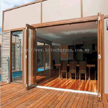 Meranti-Bifold Door