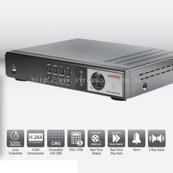 RV 3004E 4 Channel H.264 Linux Embedded Digital Video Recorder