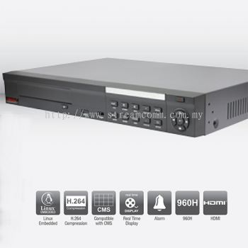 BVR8XL 8 Channel H.264 Embedded DVR