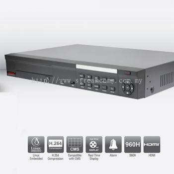 BVR16XL 8 Channel H.264 Embedded DVR