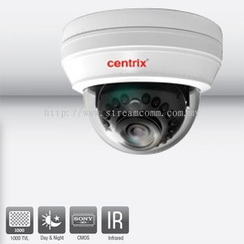 DV100IR Infra Red Dome Camera 3D-DNR, 15M