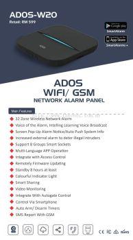 wifi alarm smart home (fully wireless)