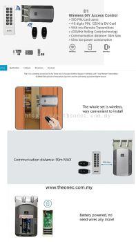 card access wireless lock