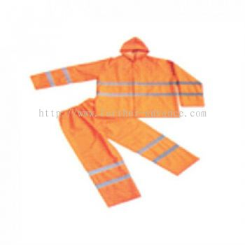 Heavy Duty Rainsuit with Reflective