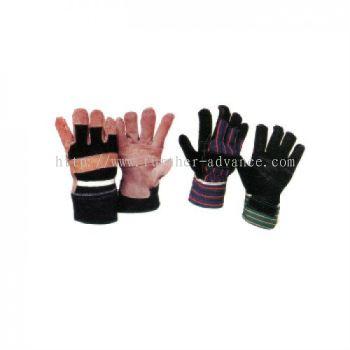 "10.5"" Semi Leather Glove"