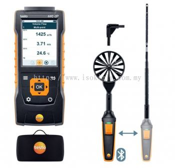 Testo 440 delta P Air Flow ComboKit 1 with Bluetooth®
