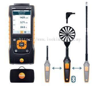 Testo 440 delta P Air Flow ComboKit 2 with Bluetooth®