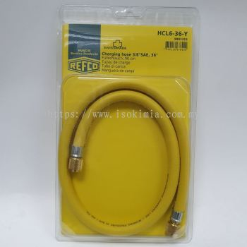 """HCL6-36-Y, 3/8"""" RAPID RECOVERY HOSE (3FT)"""