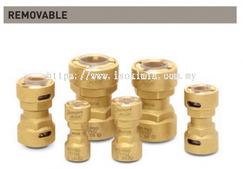 """ZoomLock Push Removable Couplings (7/8"""")"""