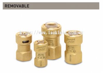 """ZoomLock Push Removable SAE Flare Adapters (1/2"""")"""