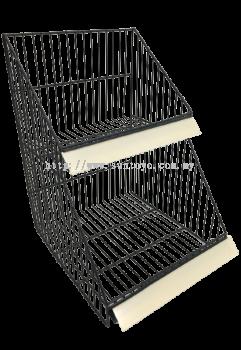 2 Layer Basket w/Datastrip