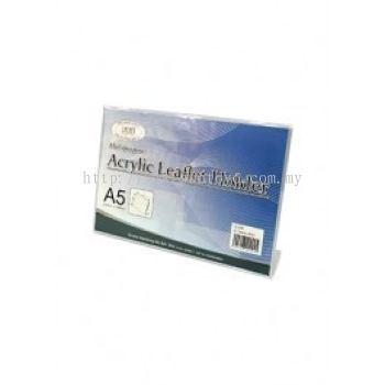 Acrylic Leaflet Holder A5 L Shape