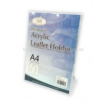 Acrylic Leaflet Holder A4 L Shape
