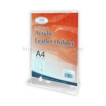 Acrylic Leaflet Holder A4 T Shape