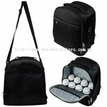 AUTUMNZ CLASSIQUE COOLER BAG-BLACK