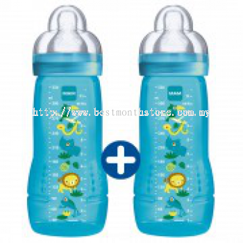 MAM Easy Active™ Baby Bottle 330ml Jungle Combipack
