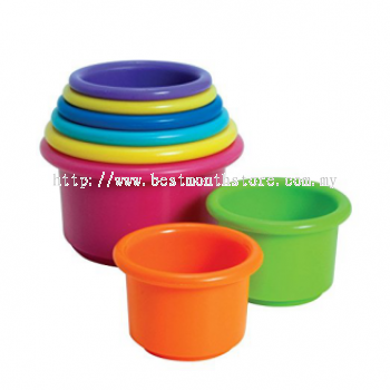 THE FIRST YEARS STACK COUNT CUPS