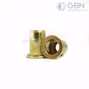 Crimp Nuts Flange Type Body Serration (BEM)