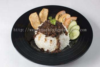 ���ﷹ Minced Mushroom Rice