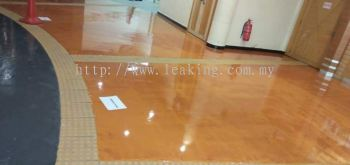 Metalic Colours Flooring