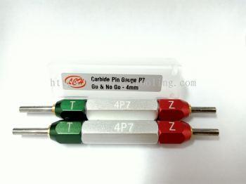 Carbide Pin Gauge go and no Go