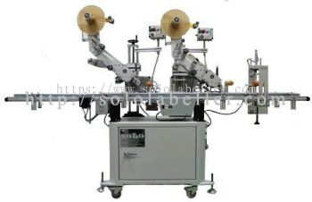 2 Top Applicator With Corner Press Device Labelling