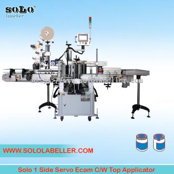 One(1) Side Servo Ecam with Top Applicator Labelling Machine (Customized Machine)