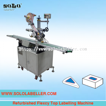 (Used) Flexcy Top Labelling Machine