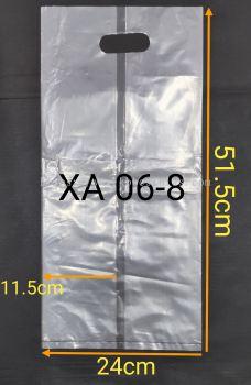 Plastic Handle Bag/Plastic Punch Hole Bag 50pcs+/-