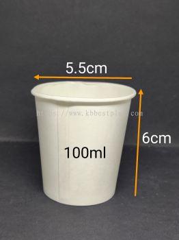 Paper Cup 100ml 100pcs+/-