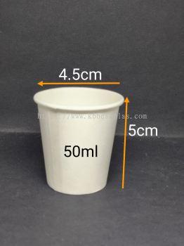 Paper Cup 50ml 100pcs+/-