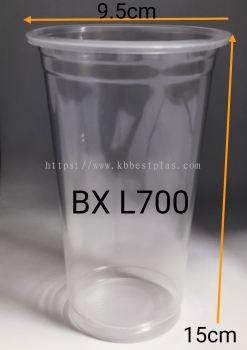 PP Clear Cup 22oz A1(L700) 100pcs+/-