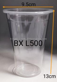 PP Clear Cup 16oz A1(L500)100pcs+/-