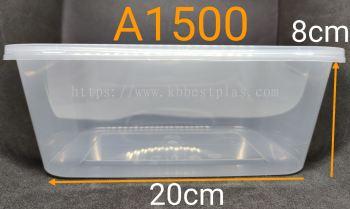 CB Ware A1500 Rectangle Tupperware 50pcs+/-