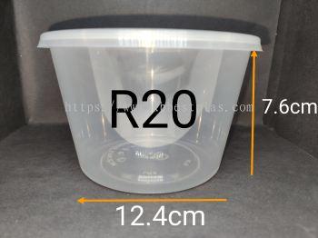 CB Ware R20 Round Tupperware 50pcs+/-