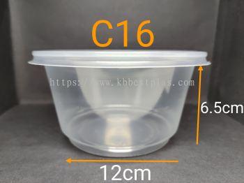 EC C16 Round Tupperware 50pcs+/-