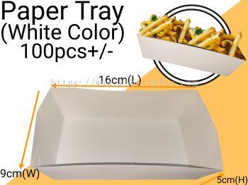 Paper Tray (White) 100pcs+/-