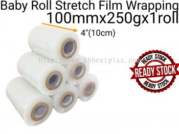 Baby Roll Stretch Film Wrapping 10cmx250g